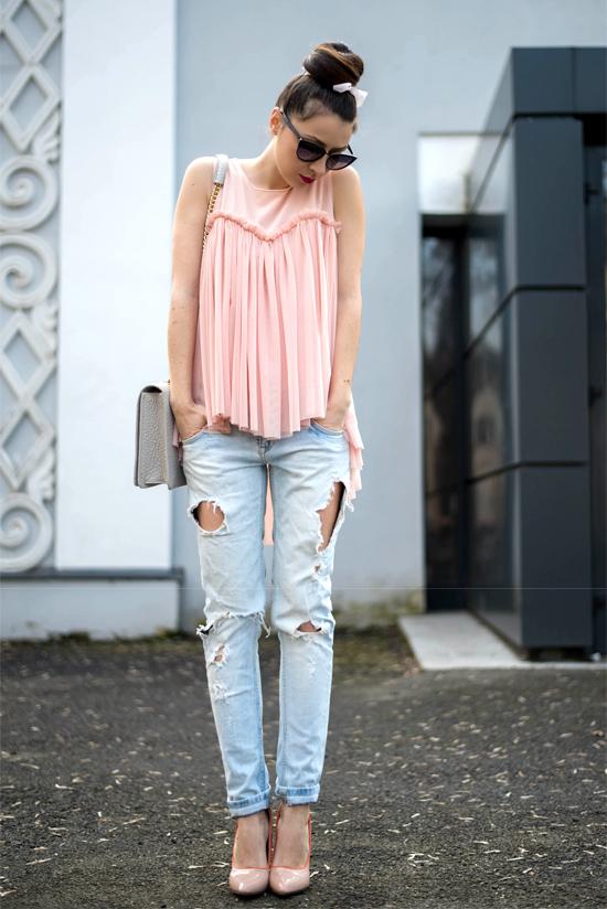 bluza roz Magazin Up