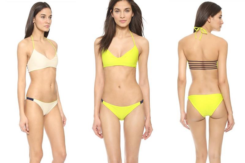 shopbop revesible bikinis