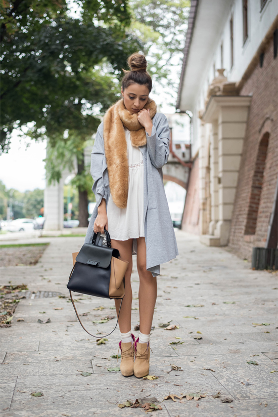 fall outfit street style