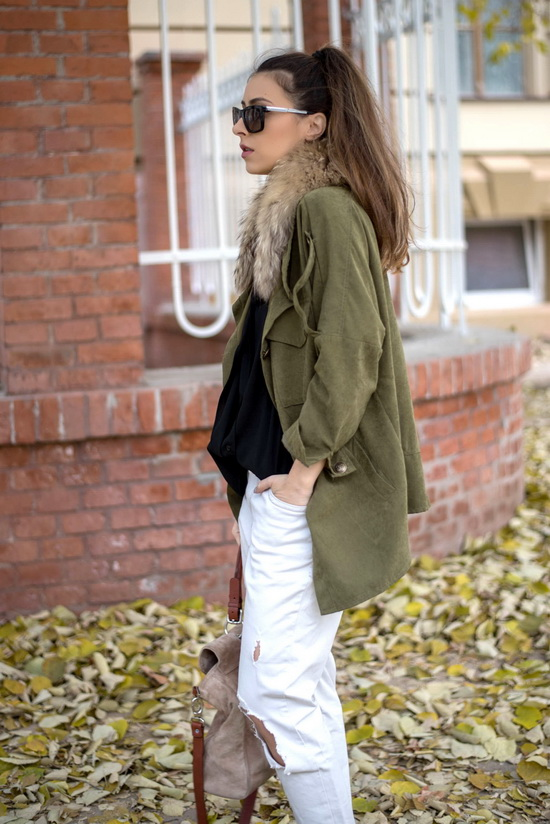 shein army style jacket
