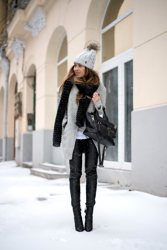 how to dress up during winter