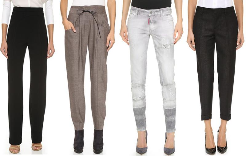 pantaloni la reducere