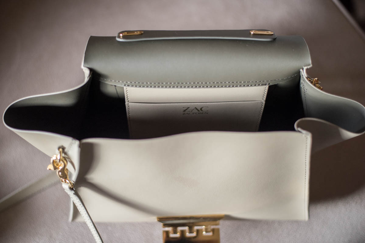 Zac Posen bag interior