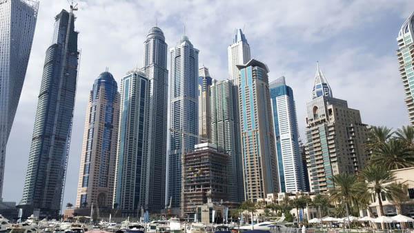 portul din Dubai Marina