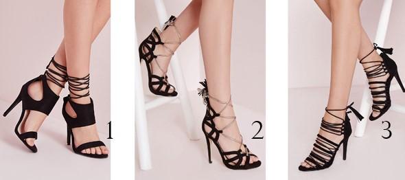 sandale negre cu toc la preturi avantajoase
