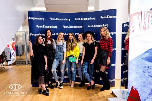 Fabulous Muses la deschiderea Peek&Cloppenburg Timisoara